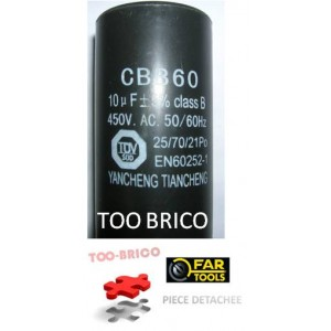 Condensateur pour TB100 Fartools (113250)