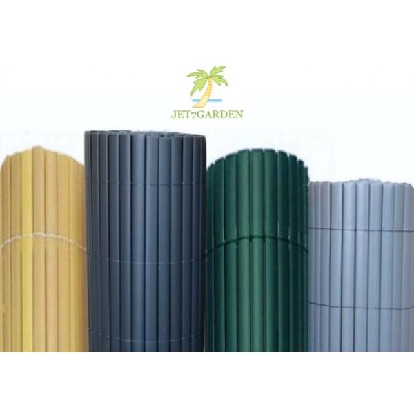 canisse pvc double face couleur vert 3x m too brico sarl calola. Black Bedroom Furniture Sets. Home Design Ideas