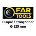 Disque abrasif FARTOOLS 125 x 22.2x1.6