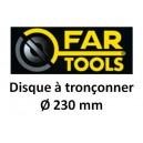 Disque abrasif FARTOOLS 230 x 22.2x3