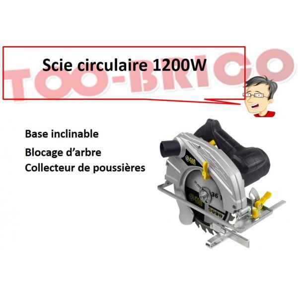 Scie circulaire fartools ll1400e too brico sarl calola - Scie circulaire brico depot ...