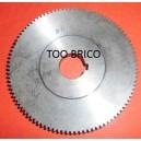 Pignon 98 dents pour Tour à métaux ML400 (114070)