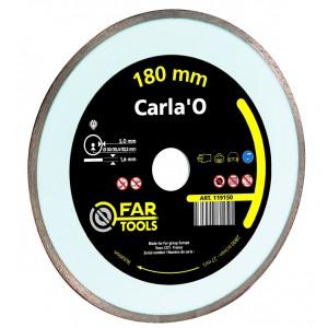 Disque diamant carla 39 o qualit eco 180 x 22 2 x 5 4 mm pour coupe eau too brico sarl calola - Disque coupe carrelage 180 mm ...