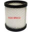 Filtre multi plis pour vide-cendres motorisé Fartools AMF18 (101081)