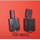 Charbons pour scie circulaire MS1200 Tecnum (715435)