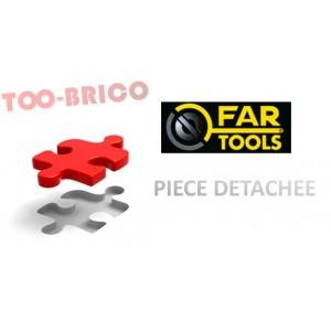 Pignon 30 dents pour tour à métaux ML400 (114070)
