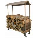 Abri bois à toit 2 pentes (182082)