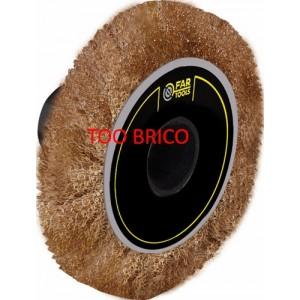 Brosse laitonnée pour RDP60 Fartools (115020)