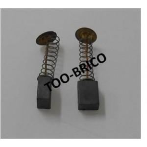 charbons pour meuleuse d 39 angle bg230 fartools r f 815071 115071 too brico sarl calola. Black Bedroom Furniture Sets. Home Design Ideas
