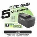 Batterie pour taille haie Fartools ET26 (réf. 175216)
