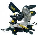 Scie à onglet radiale visée laser Fartools JR211 1800W
